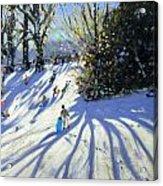 Early Snow Darley Park Acrylic Print