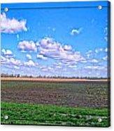 Early Spring Farmland Acrylic Print