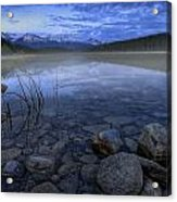 Early Summer Morning On Patricia Lake Acrylic Print