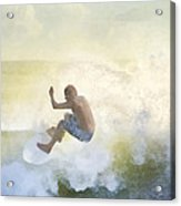 Early Surfer Acrylic Print