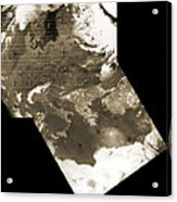 Early Weather Satellite Images Acrylic Print