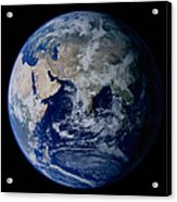 Earth From Space Showing Eastern Acrylic Print
