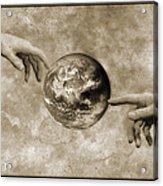 Earth's Creation Acrylic Print by Detlev Van Ravenswaay