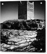 Easkey Roslee Roslea Castle County Sligo Ireland Acrylic Print