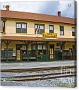 East Broad Top Station 2 Acrylic Print