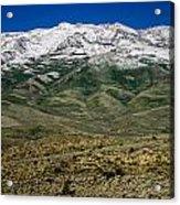 East Humboldt Range Acrylic Print