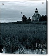 East Point Light Before The Storm  Acrylic Print