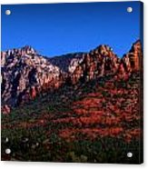 East Sedona Colors Acrylic Print