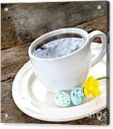 Easter Coffee Acrylic Print by Darren Fisher