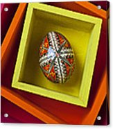 Easter Egg In Box Acrylic Print