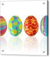 Easter Eggs Acrylic Print