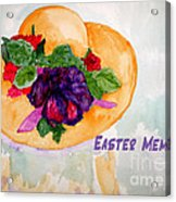 Easter Memories Acrylic Print