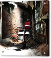 Eastern State Penitentiary - Barber's Chair Acrylic Print