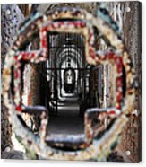 Eastern State Penitentiary - Medical Ward Acrylic Print