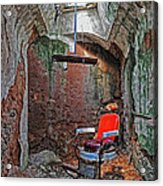 Eastern State Penitentiary Barber Shop Acrylic Print