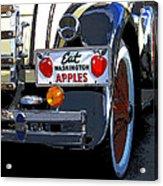 Eat Washington Apples2 Acrylic Print