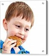 Eating Biscuit Acrylic Print