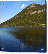 Echo Lake Franconia Notch New Hampshire Acrylic Print