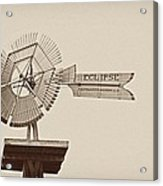 Eclipse Windmill 3578 Acrylic Print