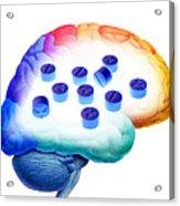 Ecstasy Use, Artwork Acrylic Print by Victor De Schwanberg