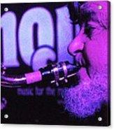Ed Lynman On Blues Sax Acrylic Print