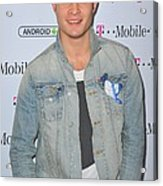 Ed Westwick At Arrivals For T-mobile Acrylic Print by Everett