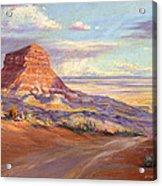 Edge Of The Desert Acrylic Print