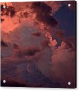 Edge Of The Storm Acrylic Print