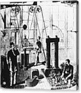 Edisons Electric Generator Acrylic Print