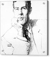 Edmund Clerihew Bentley Acrylic Print