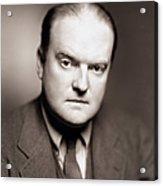 Edmund Wilson (1895-1972) Acrylic Print