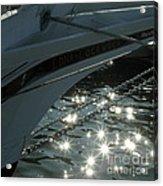 Edna's Bow Lights Acrylic Print