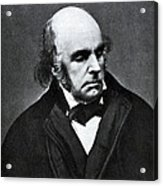 Edward Fitzgerald, English Writer Acrylic Print by Humanities And Social Sciences Librarynew York Public Library