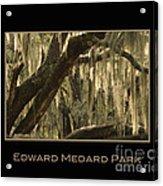Edward Medard Park Acrylic Print