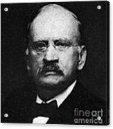 Edward W. Morley 1907 Nobel Prize Acrylic Print