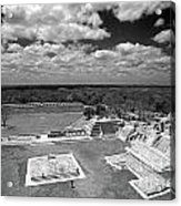 Edzna Ruins Campeche Mexico Acrylic Print