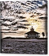 Eerie Lighthouse Acrylic Print