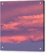 Effect Of Sunrise Acrylic Print