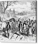 Effects Of Emancipation Proclamation Acrylic Print
