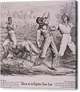 Effects Of The Fugitive-slave-law Acrylic Print