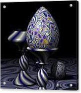 Egg And Goblet Acrylic Print