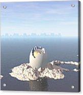 Egg Island Acrylic Print