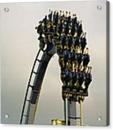 Egypt-montu Rollercoaster At Busch Acrylic Print