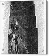 Egypt: Pyramid Interior Acrylic Print