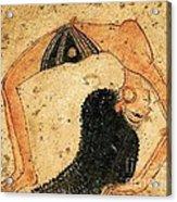 Egyptian Dancer Acrylic Print