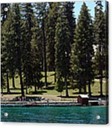 Ehrman Mansion Lake Tahoe Acrylic Print