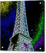 Eiffel Acrylic Print by David Alvarez