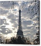 Eiffel In The Morning Acrylic Print