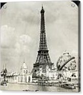 Eiffel Tower, 1900 Acrylic Print