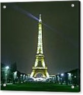 Eiffel Tower At Night Acrylic Print